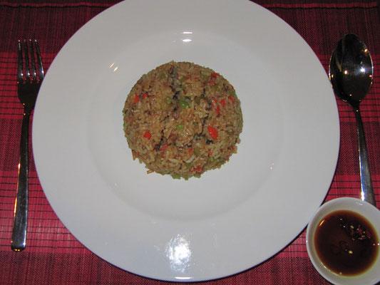 Gebratener Reis. (zuhause)