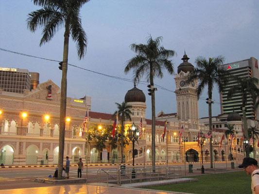 Das Sultan Abdul Samad Gebäude (heute das Ministerium für Information, Kommunikation und Kultur).