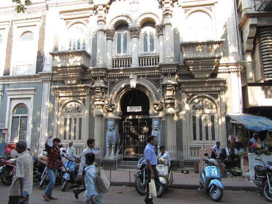 Der Parsi Tempel ist für nicht Parsis Tabu.