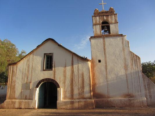 Die Kirche von San Pedro.