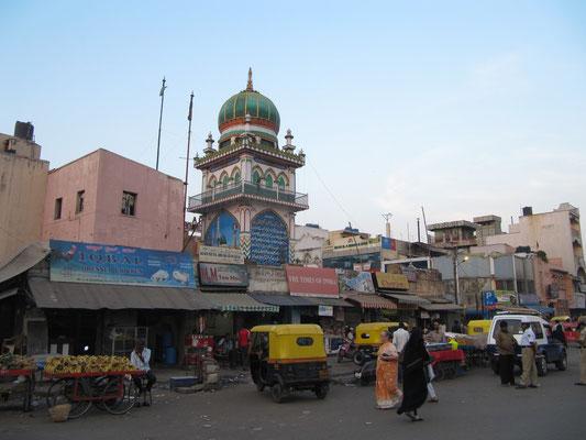 Im muslimischen Viertel.