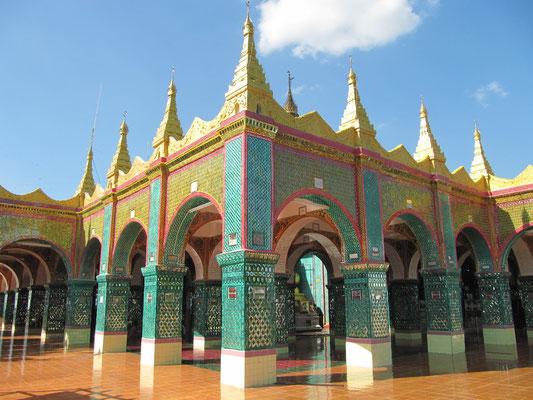 Gipfeltempel. (Mandalay Hill)