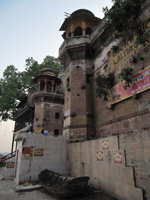 Das Lalita Ghat am nördlichen Abschnitt.