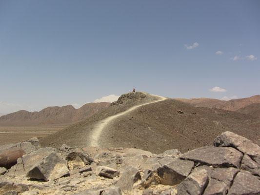 Einsame Wüste.