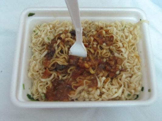 Instant Spaghetti Bolognese.