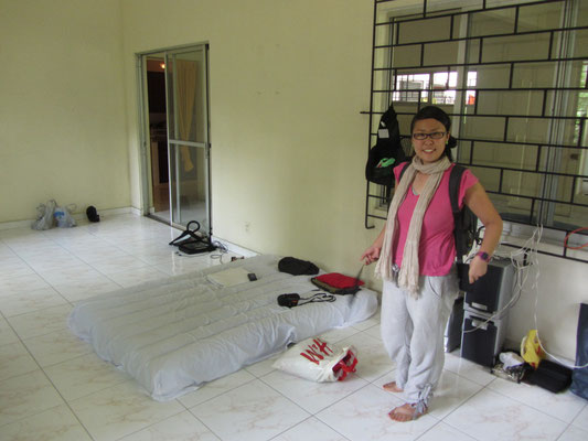 Couchsurfing in Panama City. Unser Zimmer.