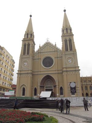 Die Catedral Metropolitana.