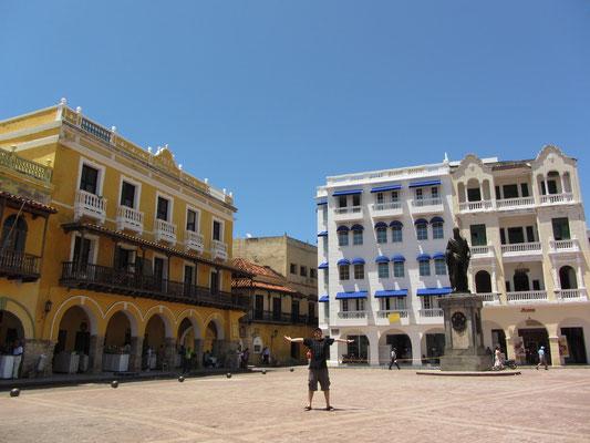 Auf dem Plaza de los Coches.