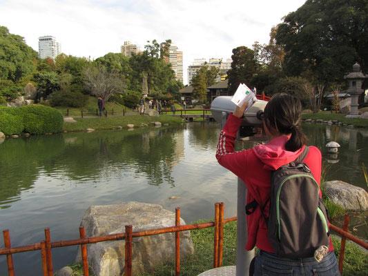 Im Jardin Japones (Japanischer Garten) im Stadtteil Palermo.