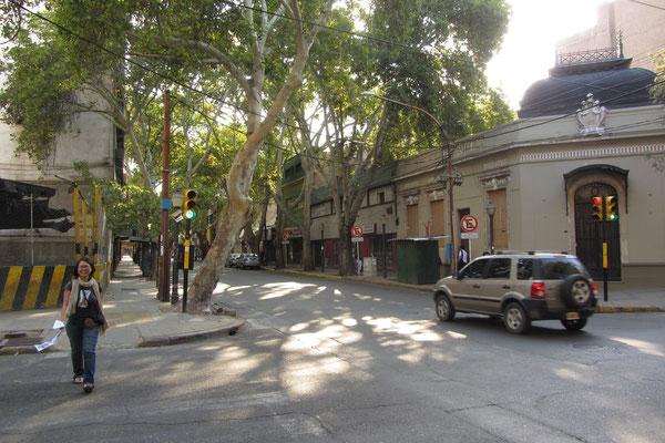 In den Straßen Mendozas.
