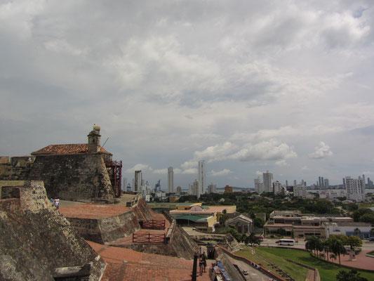 Blick über die Festung San Felipe.