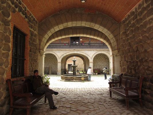 Die Casa de la Moneda war ein wichtiges Zentrum des spanischen Kolonialhandels in Südamerika und gilt heute als eine der bedeutendsten Sehenswürdigkeiten von Potosí.