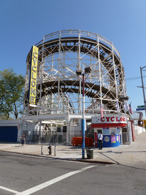 Vergnügungspark, Coney Island, Brooklyn.