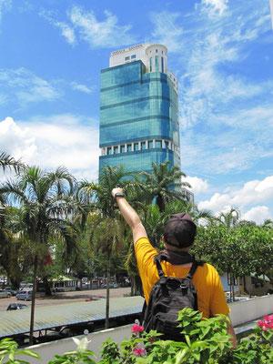 Das Sanyan-Gebäude ist Sarawaks höchster Bau.
