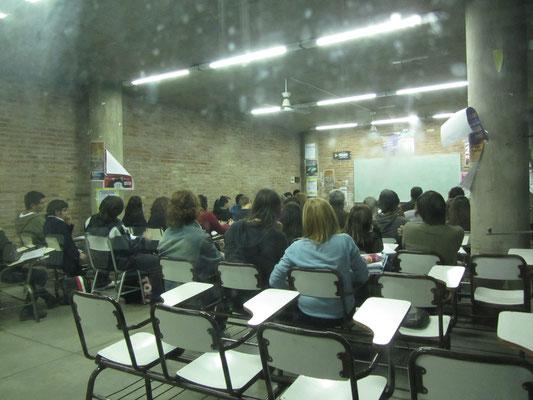 Wie zu meiner Zeit. - In Cordoba gibt es insgesamt 7 Universitäten.