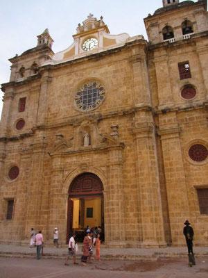 Die San-Pedro-Kirche.