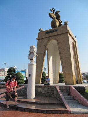 Die Tran-Nguyen-Hai-Statue.