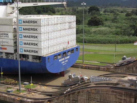 Die Reederei Maersk gehört zur dänischen Unternehmensgruppe A. P. Møller-Mærsk.