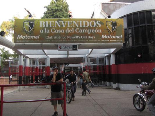 Die Newell's Old Boys wurden 1903 gegründet und gehören zu den wichtigsten Fußballmanschaften Argentiniens.