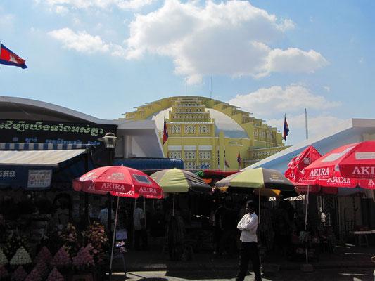 Psar Thmei (Central Market).