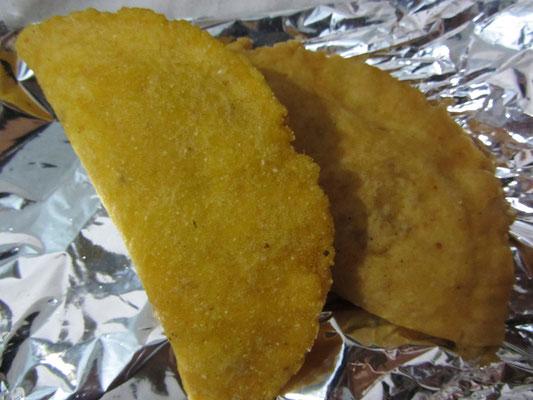 Frittierte Empanadas.