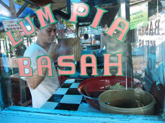 Typisches Straßenrestaurant.