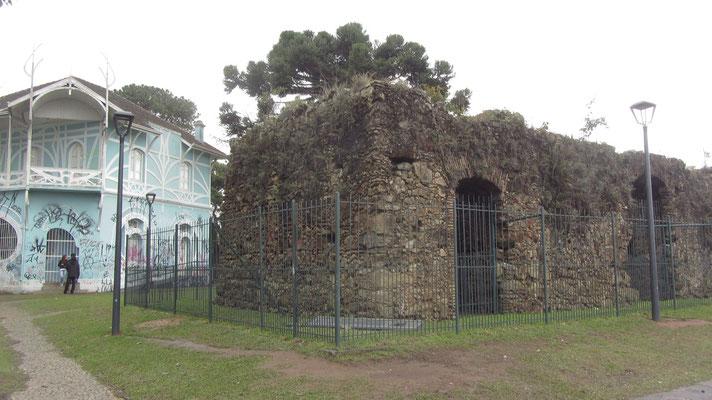 Ruinen in Largo da Ordem.