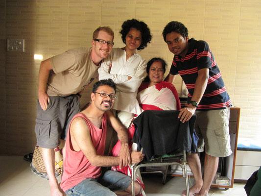 Unsere Singhs - unsere zweiten Gastgeber in Mumbai.