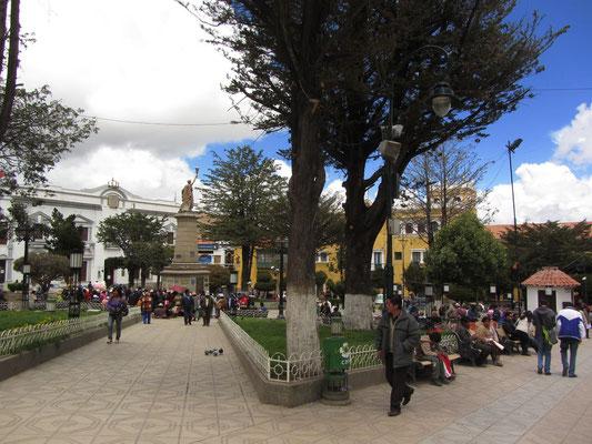 Plaza 10 de Noviembre.