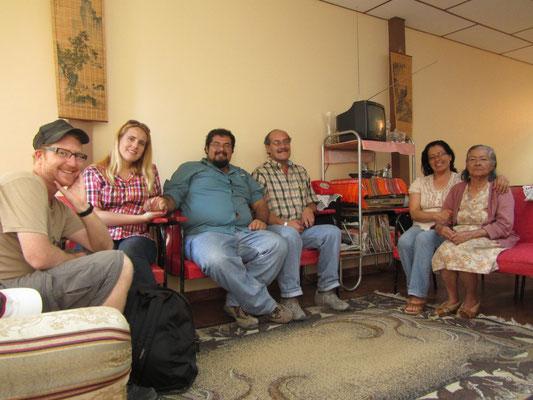 Besuch bei Juans Familie.