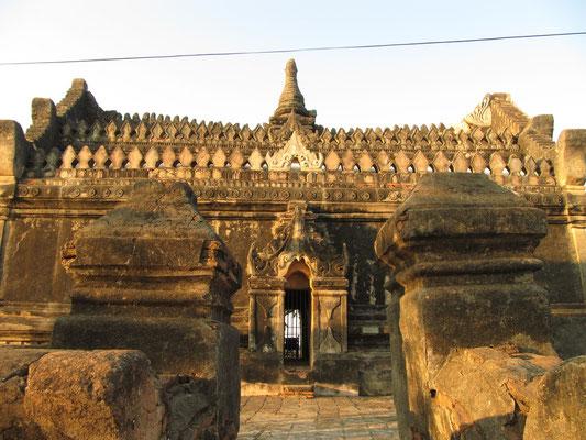 Der Upali-Thein-Tempel ist berühmt für seine Wandmalereien.