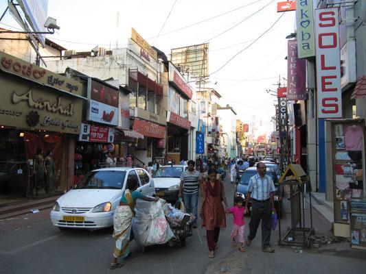 Bangalores beliebtestes Einkaufsviertel.