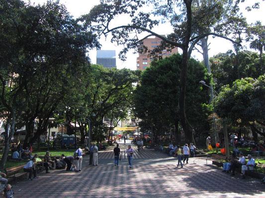 Parque Simon Bolivar.
