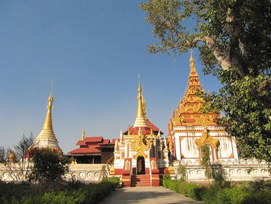 Shwe Zali Paya - Unser Haustempel.