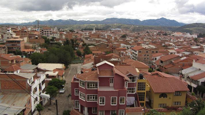 Über den Dächern von Sucre.