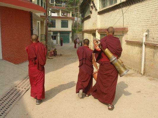 Junge buddhistische Novizen.
