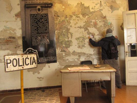 Das Museo de la Memoria ist einer früheren Haft- und Foltereinrichtung des Militärregimes untergebracht.