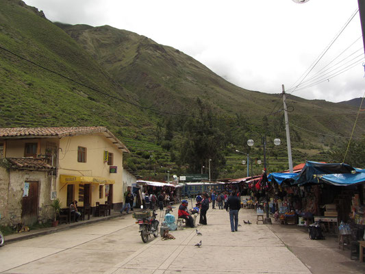 Auf dem Weg nach Aguas Calientes. (Ollantaytambo)
