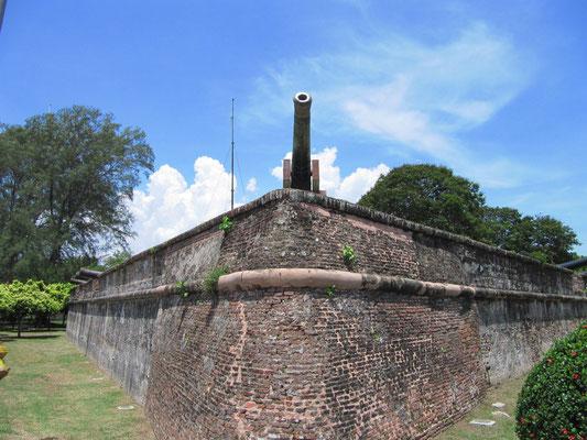 Das Fort Cornwallis.