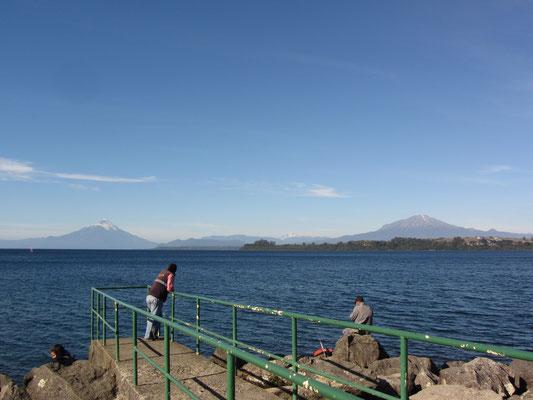 Llanquihue-See und Vulkan Osorno in Puerto Varas.