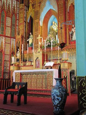 Altar der St .Josefs Kathedrale.