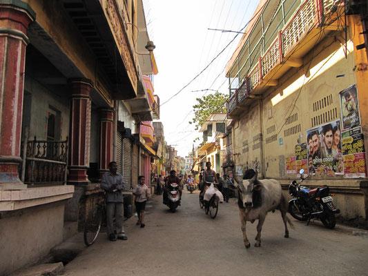 In den Straßen von Puri.