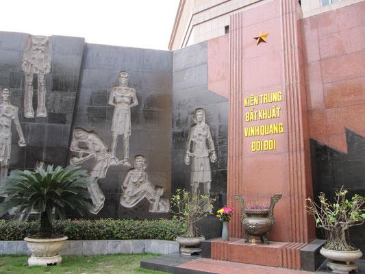 Gedenkstätte im Hanoi Hilton.