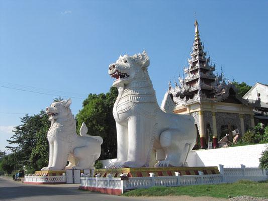 Eingang zum Mandalay Hill.