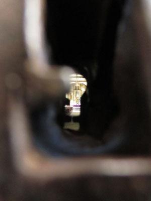 Schlüsselloch. (Iglesia Las Mercedes)