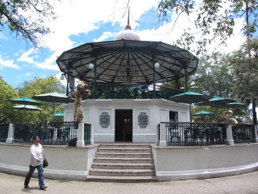 Im Parque Central.