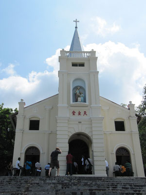 St. Anne's Church in Bukit Mertajam.