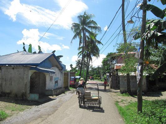 Die Nachbarschaft in Mactan Island.