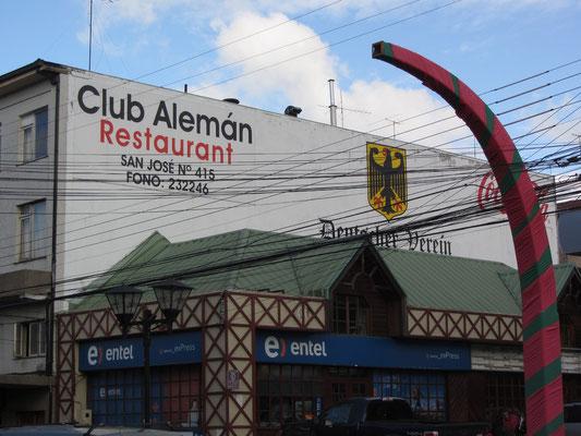 Deutsch, deutscher, Club Aleman im Herzen Puerto Varas.