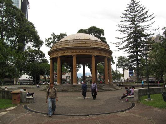 Im Parque Morazan steht San Joses Wahrzeichen, der Musiktempel.